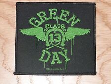 GREEN DAY - NEON WINGS (NEW) SEW ON W-PATCH OFFICIAL BAND MERCHANDISE