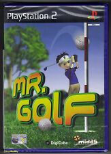 PS2 Mr. Golf (2003), UK Pal, Brand New & Sony Factory Sealed