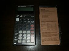 Advanced Business Analyst Baii Plus Professional Financial Calculator W/ Cover!