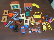Handy Manny Building Construction Play Set Pieces 2 Figures Tools Blocks & More
