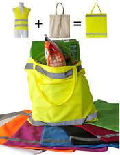 Hochsichtbare NEON-Shoppingbag von Korntex in NEON-Gelb, NEON-Orange o NEON-Pink