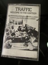 Traffic Welcome To The Canteen Steve Winwood Cassette Tape ~