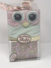 Girl's Bib & Burp Cloth Set By Bearington Baby Collection-Adorable