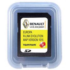 SD Karte GPS Europe 2019 -Renault R-Link Evolution 10.15