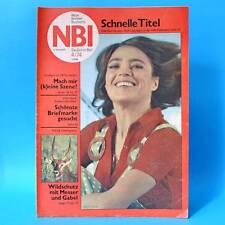 NBI 4/1974 DDR Frank Schöbel Kati Kovacs Ostsee Lenin Hochsprung Fallschirmjäger