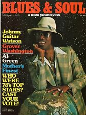 Johnny Guitar Watson Blues & Soul Issue 268 1979  Parlet  Jean Carn  Barry White