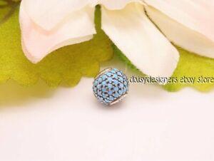 NEW Authentic Pandora ESSENCE WISDOM Turquoise Charm 796065NTQ RETIRED