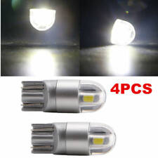 4 X T10 W5W 168 2 LED 6500K Car interior Reading License Plate Light 12V DC Lamp