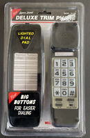 New Sealed Lenoxx Deluxe Trim Phone Model PH-300 Desk or Wall Mount Touch Black