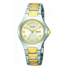 Pulsar Gold and Silver Toned Women's Watch PXU037