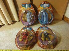 Toy Vault, Farscape action figure lot. Zhaan, Dargo, Chiana. Series 1 figures.