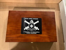 Gunmaster Deluxe Wooden Case Universal Gun Cleaning Kit New! Stay Army Strong