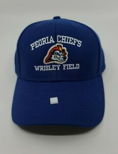 Peoria Chiefs Wrigley Field Hat NWT One Size Fits All