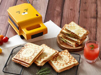 KAKAO FRIENDS Ryan Sandwich & Bread Maker Toaster Machine Electric Grill