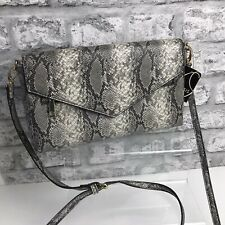 Oasis Snake Priiny Clutch Bag With Adjustable Detachable Strap