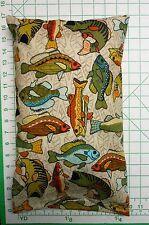 BIG FISH -  small Pillow Case & 1 WHITE Travel Pillow