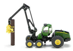 Trasporta tronchi j.deere 1:50 mezzi agricoli e accessori scala siku