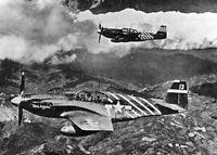 8x6 Gloss Photo ww5010 World War 2 Pictures Mustangs 00 1 7