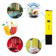 LCD Digital PH Meter Tester Hydroponics Aquarium Pool Water Test Tool Analyzer