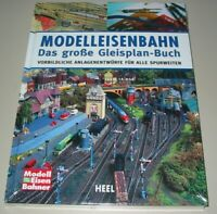 Modelleisenbahn das große Gleisplan-Buch/Anlagen-Entwürfe Modellbahn Bauen Pläne