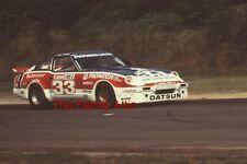5 PAUL NEWMAN DATSUN 280ZX RACING PHOTOS RACE CAR BOB SHARP BUDWEISER CANNON '80