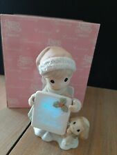 """Precious Moments 2005 """"You Light Up My Holly–Days"""" It Lights Up! 4003165"""