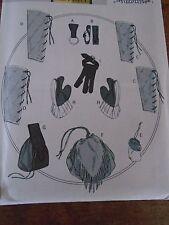 """PATRON """"BUTTERICK COSTUMES  ACCESOIRES RENAISSANCE TIR A L'ARC CHEVALIER N°5733"""