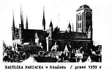 B37227 Bazylika Mariacka w gdansk  poland