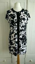 Principles Ben De Lisi Black & White Floral Top Size 16