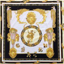 """GIANNI VERSACE velvet fabric panel The Gardener of King print size 54.5"""""""