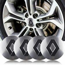 "4x 56mm 2.2"" Wheel Center Hub Caps Emblem Sticker Decal For France FR Renault"