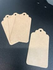 Blank Natural  Rustic Gift Tags x 10