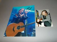 Justin Sullivan NEW MODEL ARMY  signed autograph Autogramm 8x11 photo in person