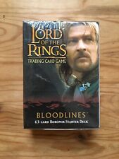 Lord of the Rings TCG Bloodlines Boromir Starter Deck Sealed