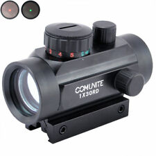 COMUNITE Tactical 1 x30 Red Green Dot Sight Scope Holograpic Mount 20/11mm Rail
