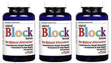 3x  Fat Blocker Diet Pills Burn Belly Fat Extreme Binding Tablets Slimming 60s