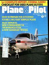 Plane & Pilot Magazine September 1976 New Commander 114 EX w/ML 120616jhe