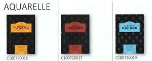 BLOCCO CANSON PER ACQUERELLO 26X36 CM 300 GRAMMI