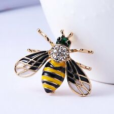 Pin Costume Fashion Jewelry Gifts New Women Crystal Rhinestone Bee Animal Brooch