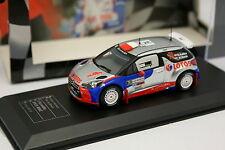 Ixo Die Cast Club 1/43 - Citroen DS3 RRC Kubica Italy Rallye 2013