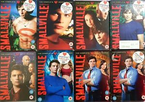 Smallville Season 1 2 3 4 5 6 7 8 DVD Box Set Series Complete Collections