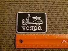 Vespa Moped Scooters Sew or Iron on Patch New