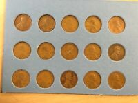 1920's Set Lincoln Cents(Pennies)PDS, 1920 - 1929; Includes Key Date 1922D