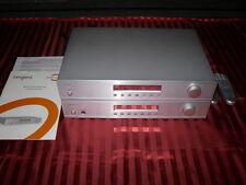 AMPLIFICATORE TANGENT amp-50 & DAB-Sintonizzatore dab-50 ARGENTO