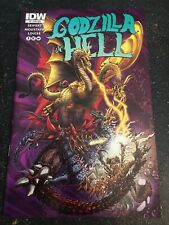 """Godzilla In Hell#4 Incredible Condition 9.4(2015)""""Zornow Variant"""""""