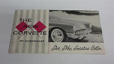 1956  Original  Chevrolet  Corvette  Sales  Catalog
