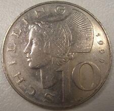 1990 AUSTRIA 10 SHILLING  COIN LQQK NICE COIN