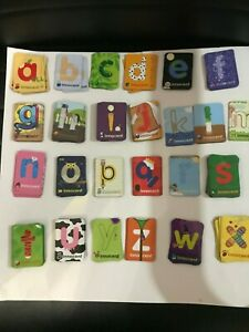 Innocent Smoothie Alphabet Fridge Magnets  A to Z Letters  new