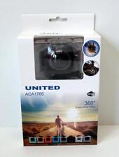 United Aca 1766 Wifi Full HD 360 Grad Action Kamera black