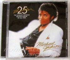 MICHAEL JACKSON  - THRILLER - CD 25° Anniversary - Sigillato